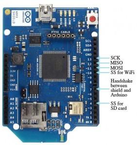 Arduino Wifi Shield Özellikleri