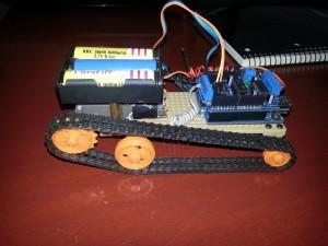 Bluetooth Kontrollü Tank Yapımı