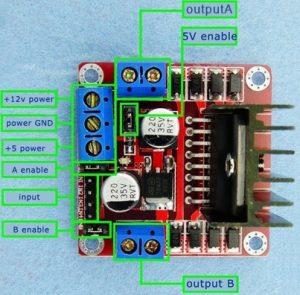 l298n arduino bağlantısı