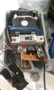 Arduino nano ile dalgıç motor kontrolü